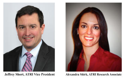 ATRI's Jeffrey Short and Alexandra Shirk Receive Promotions